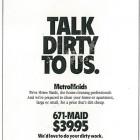MetroMaids Ad